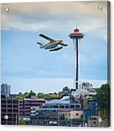 Leaving Seattle Acrylic Print