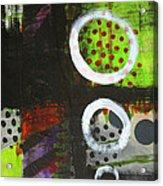 Leaving The Dark Abstract  Acrylic Print