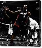 Lebron And D Wade Showtime Acrylic Print