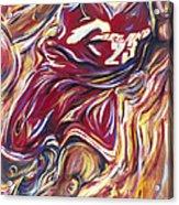 Lebron Guess Who Series Acrylic Print