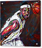 Lebron James 2 Acrylic Print