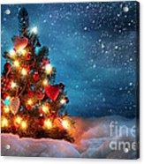 Led Christmas Lights Acrylic Print