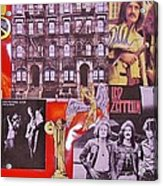 Led Zeppelin  Collage Number Two Acrylic Print