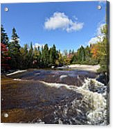 Ledge Falls Maine Acrylic Print