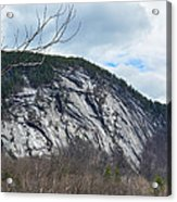Ledge In New Hampshire Acrylic Print