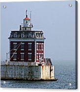 Ledge Light - Connecticut's House In The River  Acrylic Print
