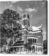 Lee County Courthouse In Giddings Texas Acrylic Print
