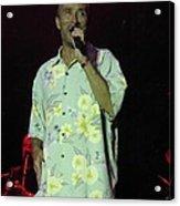 Lee Greenwood Sings Acrylic Print