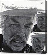 Lee Marvin Monte Walsh #1 Old Tucson Arizona 1969-2012   Acrylic Print