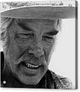 Lee Marvin Monte Walsh Set  Old Tucson Arizona 1969 Acrylic Print