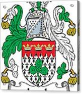 Leech Coat Of Arms Irish Acrylic Print