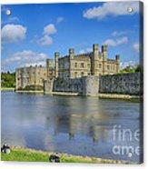 Leeds Castle Moat 2 Acrylic Print