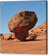 Lees Ferry Balancing Rock Acrylic Print