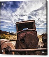 Left To Rust Acrylic Print by Anthony Citro