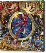 Legacy Of The Divine Tarot Acrylic Print by Ciro Marchetti