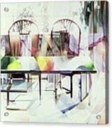 Legato Acrylic Print by Jeremy Annett