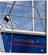 Legend 306 Acrylic Print