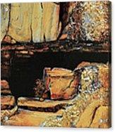 Legendary Lost Dutchman Mine Acrylic Print