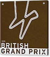 Legendary Races - 1948 British Grand Prix Acrylic Print