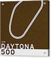 Legendary Races - 1959 Daytona 500 Acrylic Print