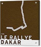 Legendary Races - 1978 Le Rallye Dakar Acrylic Print