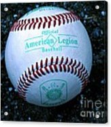Legion Baseball Acrylic Print by Colleen Kammerer
