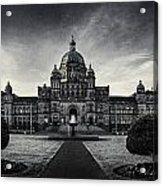 Legislature Building British Columbia Victoria Acrylic Print
