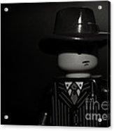 Lego Film Noir II Acrylic Print by Cinema Photography