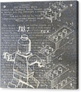 Lego Patent Acrylic Print