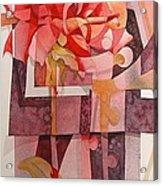 Legs Of A Flower Acrylic Print