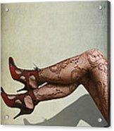 Legs Acrylic Print by Svetlana Sewell