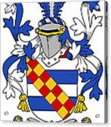 Leigh Coat Of Arms II Bradley Lancashire Acrylic Print