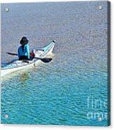 Leisure On The Lake Acrylic Print
