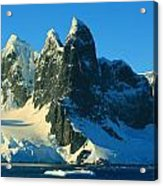 Lemaire Channel Antarctica Acrylic Print