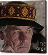 Lemko Grand Portrait By Adela . Acrylic Print