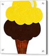 Lemon And Chocolate Ice Cream Acrylic Print