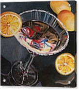 Lemon Drop Acrylic Print