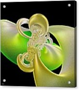 Lemon Lime Twist Acrylic Print