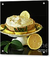 Lemon Meringue Delight Acrylic Print