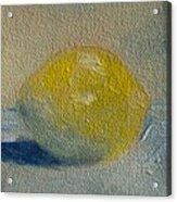 Lemon No 1 Acrylic Print