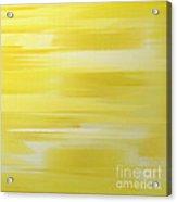 Lemon Slices Abstract Square Acrylic Print