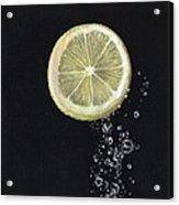 Lemon Up Acrylic Print