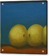 Lemons on a Ledge Acrylic Print