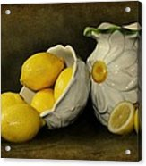 Lemons Today Acrylic Print by Diana Angstadt