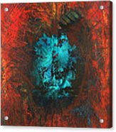 Lemurian Fire Cave 2010 Acrylic Print