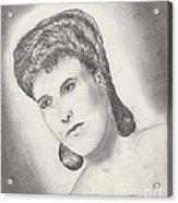 Lena Horne Acrylic Print