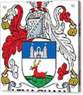 Lenaghan Coat Of Arms Irish Acrylic Print