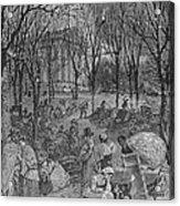 Lenox, Massachusetts, From Historical Collections Of Massachusetts, John Warner Barber, Engraved Acrylic Print
