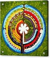 Lenten Labyrinth Acrylic Print