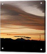 Lenticular Sunset Acrylic Print